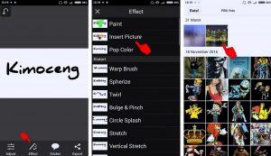 Cara Mudah Edit Foto Efek Menulis di Kaca Berembun HP Android 6