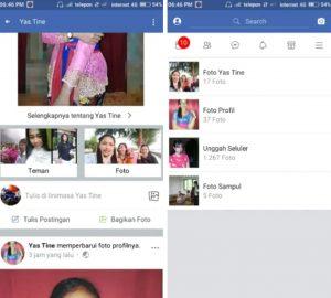 Trik Lihat Buka Foto Pada Mode Gratis di Facebook Android 7