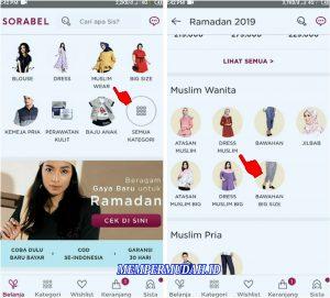 Cara Berbelanja Pakaian di Aplikasi Sorabel via HP Android 2