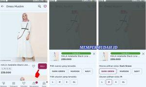 Cara Berbelanja Pakaian di Aplikasi Sorabel via HP Android 3