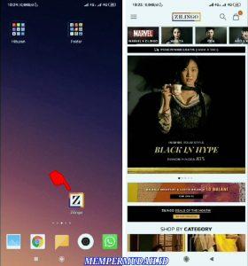 Cara Berbelanja Pakaian di Aplikasi Zilingo via HP Android 2