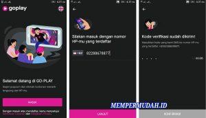 Cara Gunakan Aplikasi GO-PLAY di Smartphone Android 2