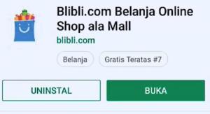 Cara Membeli Barang di Aplikasi Blibli Smartphone Android 1
