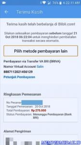 Cara Membeli Barang di Aplikasi Blibli Smartphone Android 5
