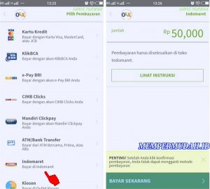 Cara Top Up Saldo OLX Lewat Aplikasi di HP Android 5