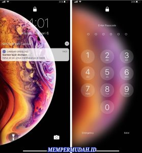 Cara Aktifkan Layar Kunci & Pemberitahuan iOS 13 di Android 8