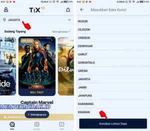 Cara Beli Tiket Bioskop Hanya Melalui Smartphone Android 5