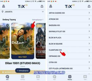 Cara Beli Tiket Bioskop Hanya Melalui Smartphone Android 6
