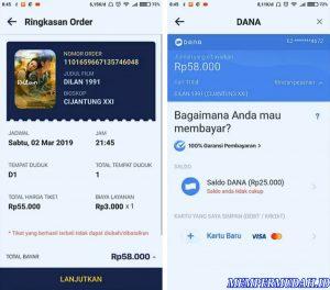 Cara Beli Tiket Bioskop Hanya Melalui Smartphone Android 8