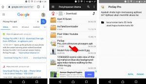 Cara Edit Foto Jalan - Jalan ke Luar Negeri via HP Android 1