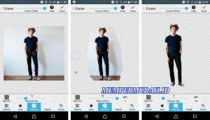 Cara Edit Foto Jalan - Jalan ke Luar Negeri via HP Android 4