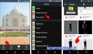 Cara Edit Foto Jalan - Jalan ke Luar Negeri via HP Android 7