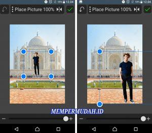 Cara Edit Foto Jalan - Jalan ke Luar Negeri via HP Android 8