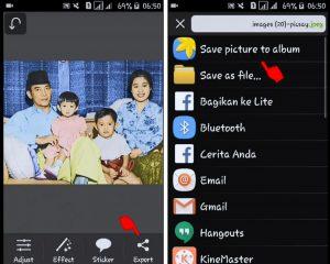 Cara Edit Foto Jaman Dulu Hitam Putih Menjadi Berwarna di Smartphone 10