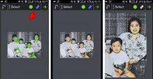 Cara Edit Foto Jaman Dulu Hitam Putih Menjadi Berwarna di Smartphone 7