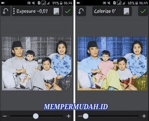 Cara Edit Foto Jaman Dulu Hitam Putih Menjadi Berwarna di Smartphone 9