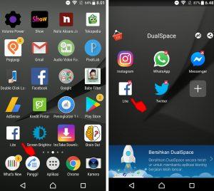 Cara Login Online Akun Facebook Lebih Dari Satu di HP Android 6