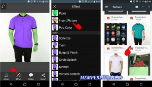 Cara Mengganti Warna Baju Pada Foto di Smartphone Android 4