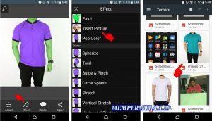 Cara Mengganti Warna Baju Pada Foto Di Smartphone Android Mempermudah Id Mempermudah Id