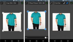 Cara Mengganti Warna Baju Pada Foto di Smartphone Android 5