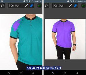 Cara Mengganti Warna Baju Pada Foto di Smartphone Android 6
