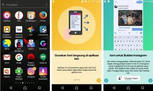 Cara Menggunakan Aplikasi Fonts for Instagram di HP Android 2