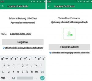 Cara Menggunakan Aplikasi MiChat di Smartphone Android 3