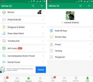 Cara Menggunakan Aplikasi MiChat di Smartphone Android 7
