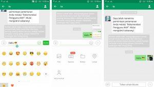 Cara Menggunakan Aplikasi MiChat di Smartphone Android 8