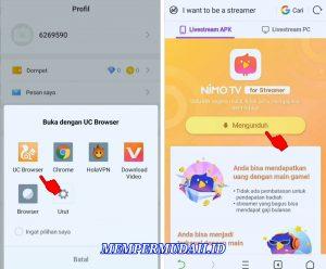 Cara Menggunakan Aplikasi Nimo TV di Smartphone Android 4
