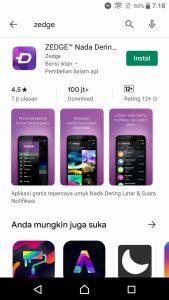 Cara Menggunakan Aplikasi Zedge Nada Dering di HP Android 1