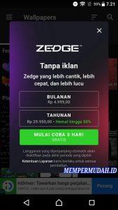 Cara Menggunakan Aplikasi Zedge Nada Dering di HP Android 3