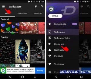 Cara Menggunakan Aplikasi Zedge Nada Dering di HP Android 4