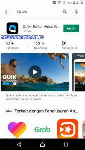 Cara Pakai Aplikasi Quick Editor Video di HP Android 1