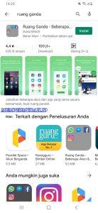 Cara Pakai Aplikasi Ruang Ganda di Smartphone Android 1