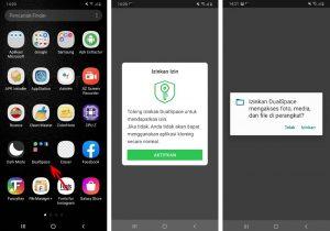 Cara Pakai Aplikasi Ruang Ganda di Smartphone Android 2