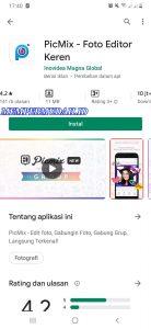 Cara Edit Foto Pakai Aplikasi PicMix di Smartphone Android 1