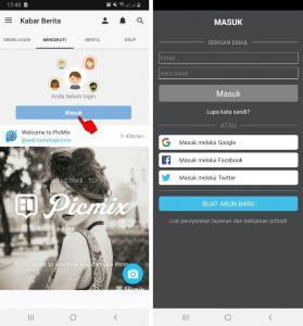Cara Edit Foto Pakai Aplikasi PicMix di Smartphone Android 3