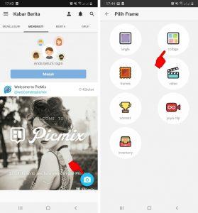 Cara Edit Foto Pakai Aplikasi PicMix di Smartphone Android 4