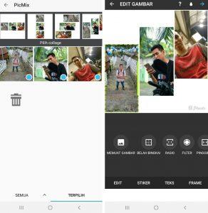 Cara Edit Foto Pakai Aplikasi PicMix di Smartphone Android 6