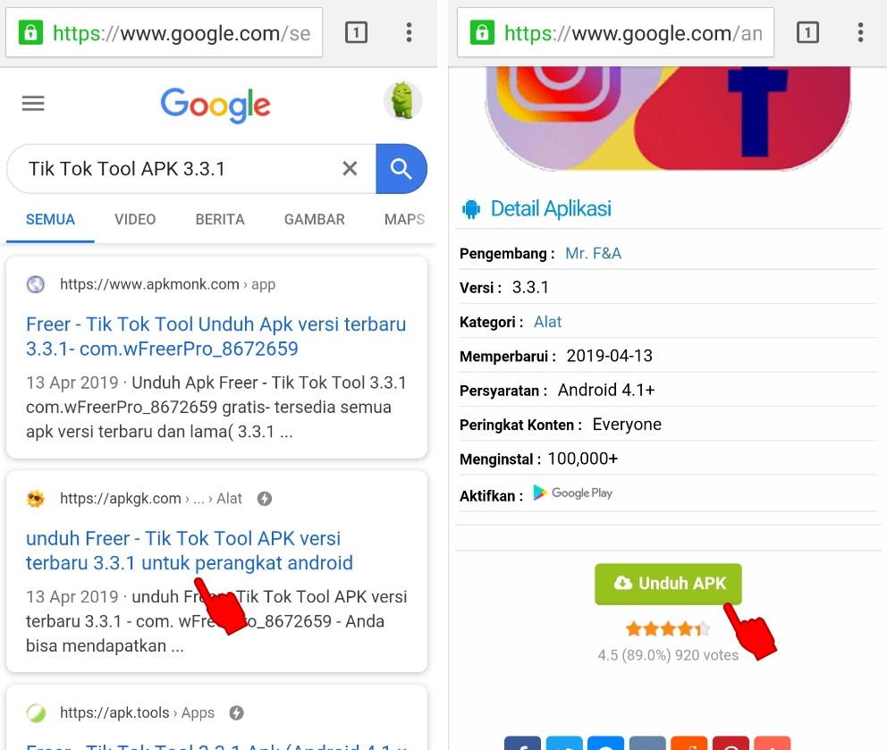 Cara Menambah Like Dan View Di Tik Tok Android Dengan Cepat Mempermudah Id Mempermudah Id