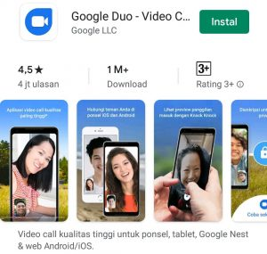 Cara Menggunakan Aplikasi Google Duo di Smartphone Android 1