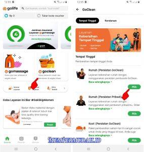 Cara Menggunakan Satu Layanan Aplikasi GoLife di HP Android 5