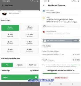 Cara Menggunakan Satu Layanan Aplikasi GoLife di HP Android 6