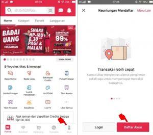 Cara Menjual Barang di Aplikasi Bukalapak Smartphone Android 2
