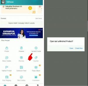 Cara Menjual Barang di Aplikasi Lazada Smartphone Android 4