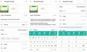 Cara Menjual Barang di Aplikasi Shopee Smartphone Android 5