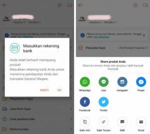 Cara Menjual Barang di Aplikasi Shopee Smartphone Android 6