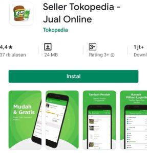 Cara Menjual Barang di Aplikasi Tokopedia Smartphone Android 1