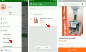Cara Menjual Barang di Aplikasi Tokopedia Smartphone Android 10